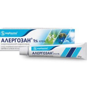 Алергозан 1% крем х18 г Sopharma