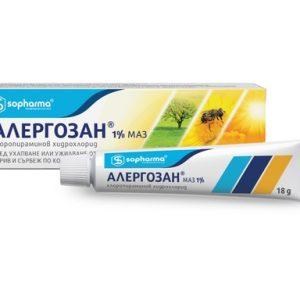 Алергозан 1% маз х18 г Sopharma