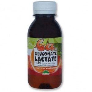 Калциев Глюконат Лактат сироп за имунитет х150 мл