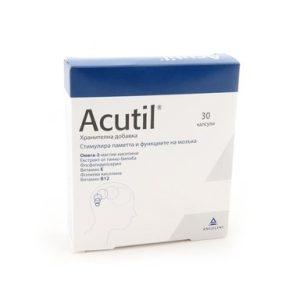 Acutil за поддържане на мозъчната функция х30 капсули Efamol