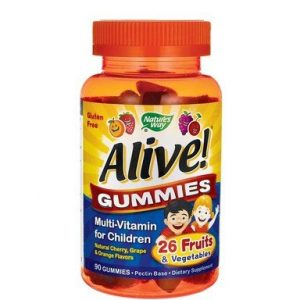 Alive Gummies Мултивитамини за деца х90 желирани таблетки Nature's Way