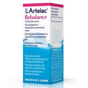 Artelac Rebalance Kапки за очи х10 мл Bausch+Lomb