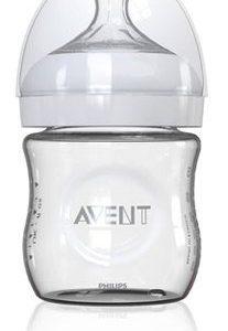 Avent Natural Стъклено шише x120 мл и биберон с 1 дупка 0+ месеца