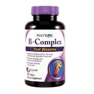 B-Complex бързо разтворим х90 таблетки Natrol