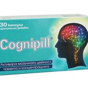 Cognipill за памет и концентрация х30 капсули Unipharma