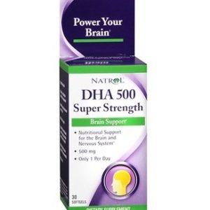 DHA Докозахексаенова киселина омега 3 500 мг х30 капсули Natrol