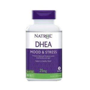 DHEA в подкрепа на организма 25 мг х180 таблетки Natrol