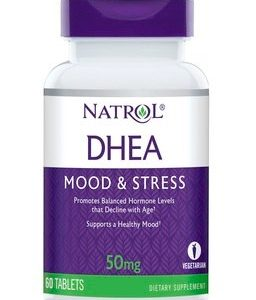 DHEA 50 мг х60 таблетки Natrol