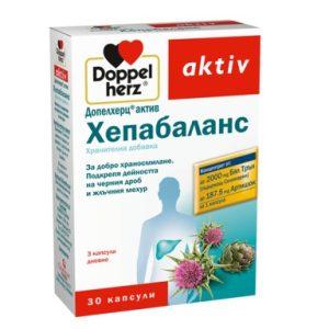 Doppelherz aktiv Хепабаланс за добро храносмилане х30 капсули