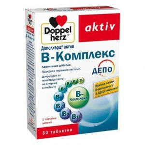 Doppelherz aktiv B-Комплекс депо х30 таблетки