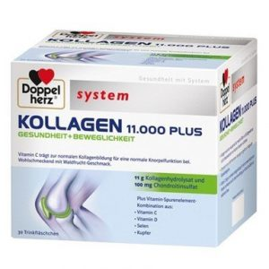 Doppelherz system Колаген 11.000 плюс за стави 30 флакона x25 мл