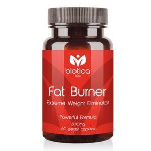 Fat Burner редуктор на излишното тегло 300 мг х60 капсули Biotica