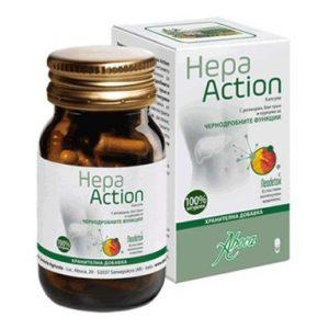 Hepa Action за здрав черен дроб х50 капсули Aboca