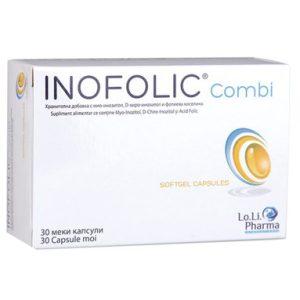 Inofolic Combi при поликистозни яйчници х30 капсули