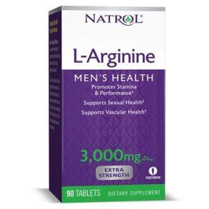 L-Arginine за мъже х90 таблетки Natrol