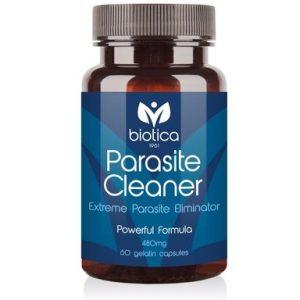 Parasite Cleaner прочистване на организма от паразити 400 мг х60 капсули Biotica