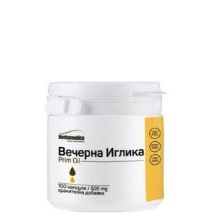 Prim Oil Масло от вечерна иглика 505 мг х100 капсули Herbamedica