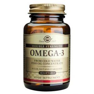 Solgar Омега-3 двойно подсилен х30 меки капсули