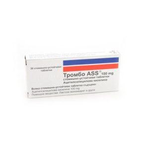 Trombo Ass 100 мг x30 таблетки Milve